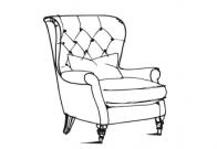 Farmhouse Luxe - Accent Chair