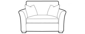 Irving - Loveseat