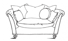 Farmhouse Luxe - Loveseat