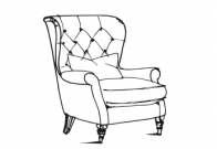 Farmhouse Luxe - Accent Chair