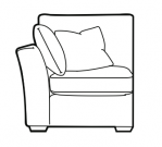 Maxwell - Compact 1 Seater 1 Arm
