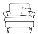 Jasmine - Loveseat