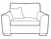 Jude - Loveseat